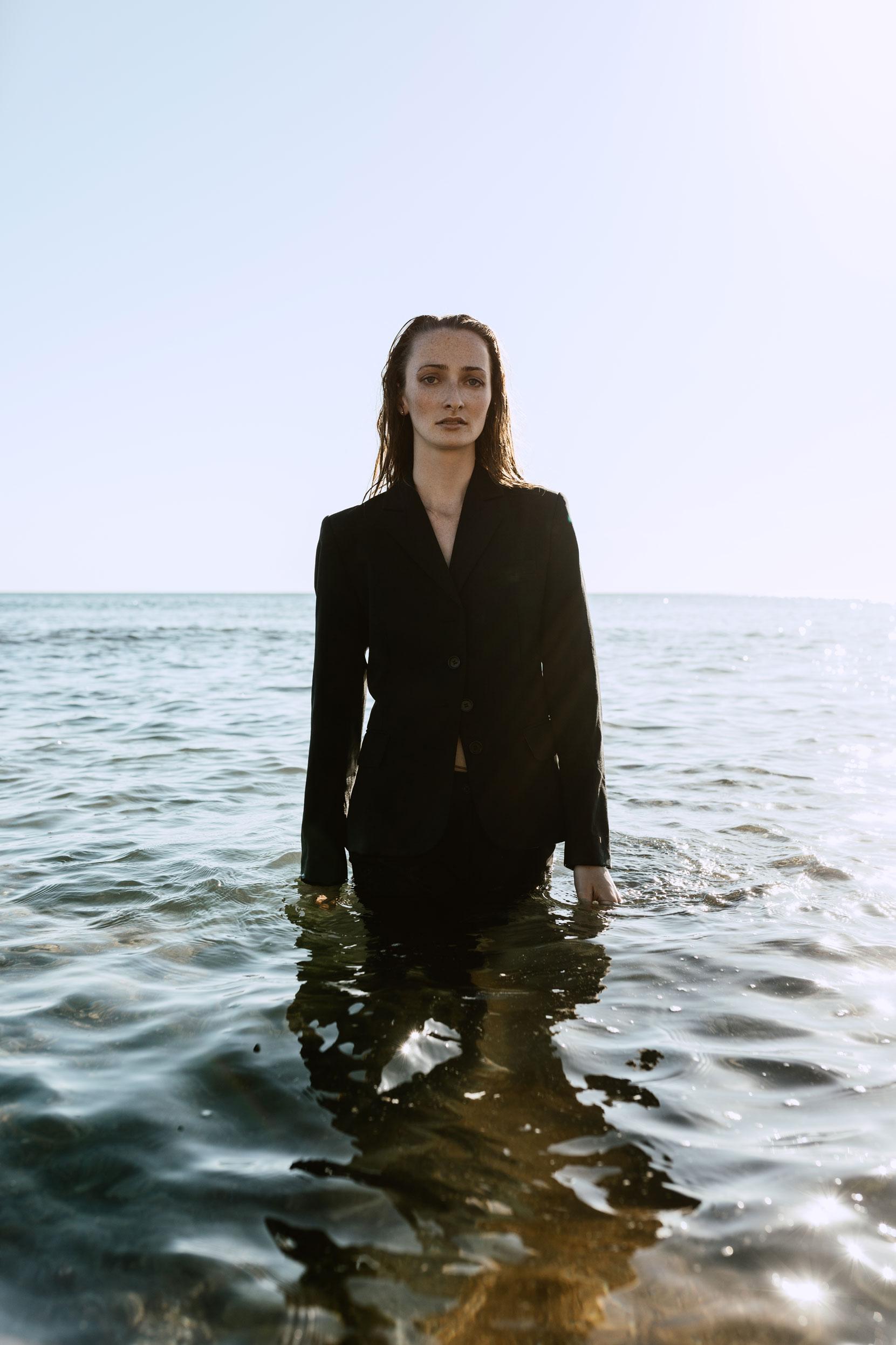 portrait mode bord de mer